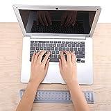 Aelfox Keyboard Wrist Rest Memory Foam Ergonomic Wrist Pad for for Laptop, Office, Home Office (Gray)