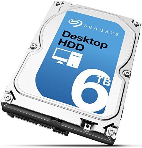 Seagate Desktop HDD 6 TB; interne Festplatte; 3.5