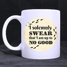 Custom I Solemnly Swear That I Am Up To No Good Harry Potter Funny Words Coffee Mug