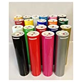 "10 Rolls 5 Feet 12"" Adhesive Vinyl for Craft hobby/sign maker/cutter/Decals/Lettering/Graphics Seld Sign Backed Oracle 651"