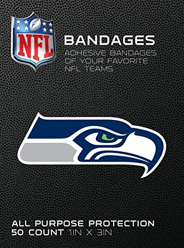 - Cureit Brand NFL Officially Licensed Bandages, 1