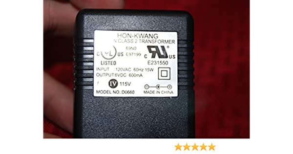 15V AC Adapter Compatible with Hon-Kwang A15-110 A15110 E97199 for Many Device