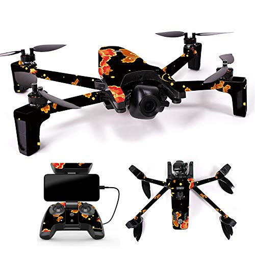 MightySkins Skin for Parrot Anafi Drone - Flower Dream | Protective, Durable, and Unique Vinyl Decal wrap Cover | Easy to Apply, Remove, and Change Styles | Made in The USA