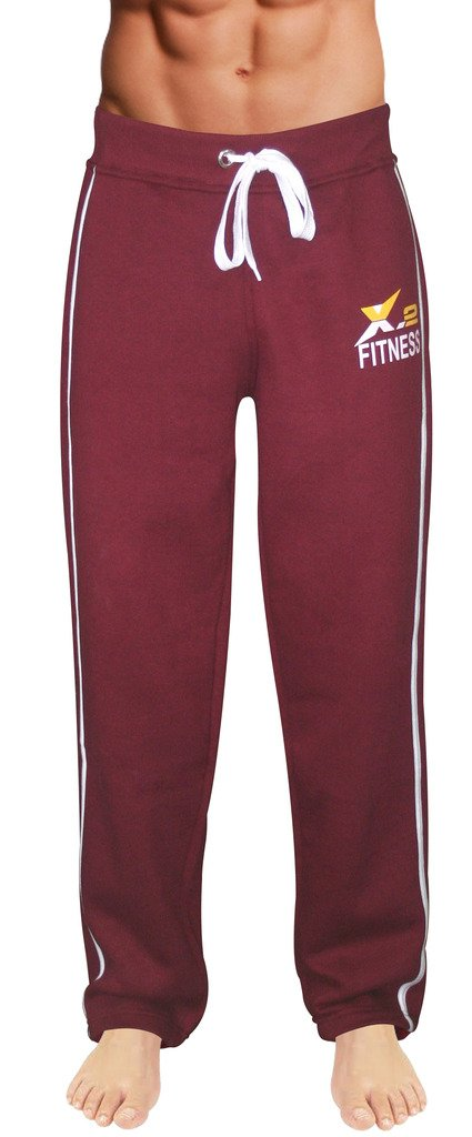 X-2 Men's Active Fleece Joggers Sweatpants Gym Tracksuit Running Athletic Pants