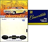 1966 CHEVROLET IMPALA CONVERTIBLE OWNERS INSTRUCTION & OPERATING SET OF MANUALS & PROTECTIVE ENVELOPE