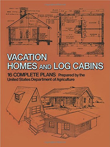 Vacation Homes and Log Cabins (House Plans Log)