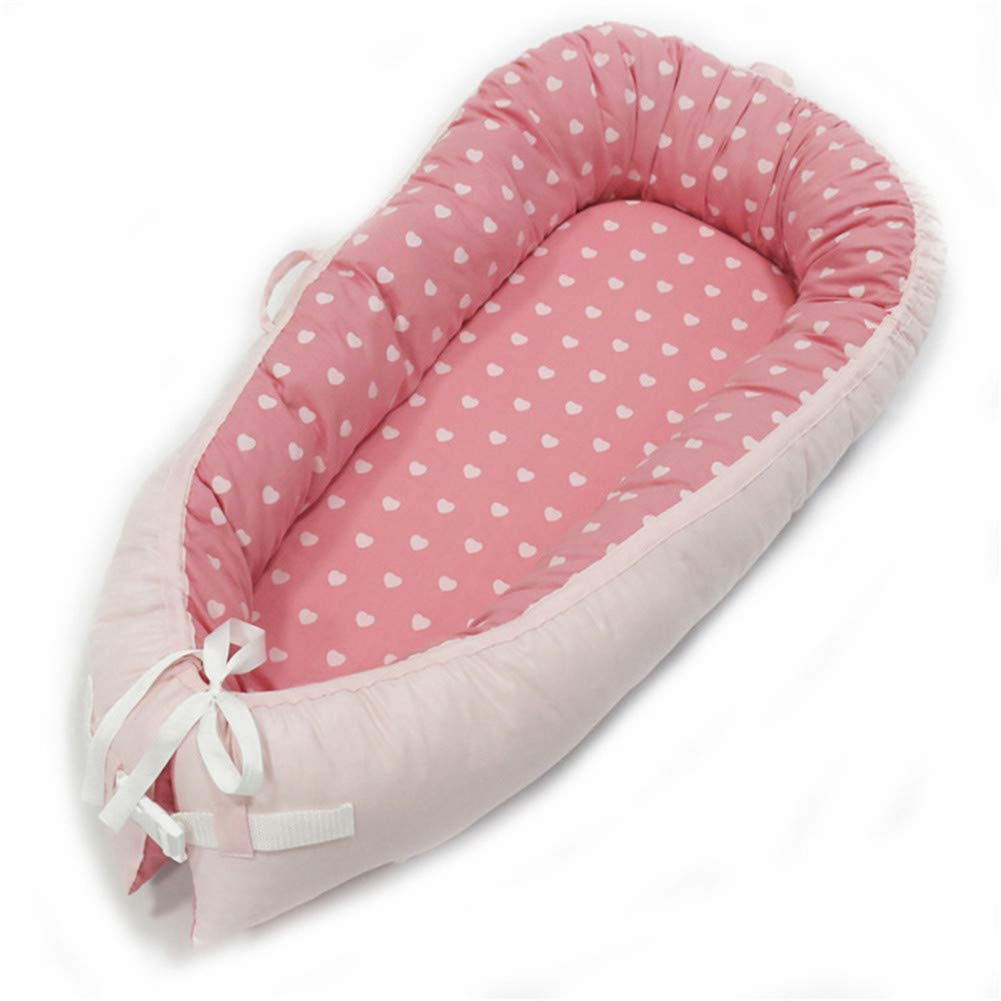 Cotton Portable Travel Infant Bed Cribs Bassinet Baby Nest for Baby Lounger Breathable Folding Bed Decacy Baby Cribs