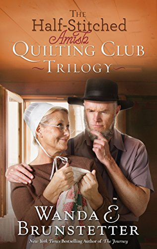 book cover of The Half-Stitched Amish Quilting Club