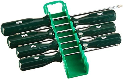 SK Hand Tool 86323 Torx Sure Grip Screwdriver Set, 7-Piece