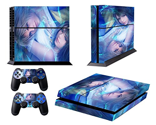 Reasonable Final Fantasy 10 X Ff10 Ffx Yuna Tidus Skin Sticker Decal Protector Ps4 Pro Faceplates, Decals & Stickers