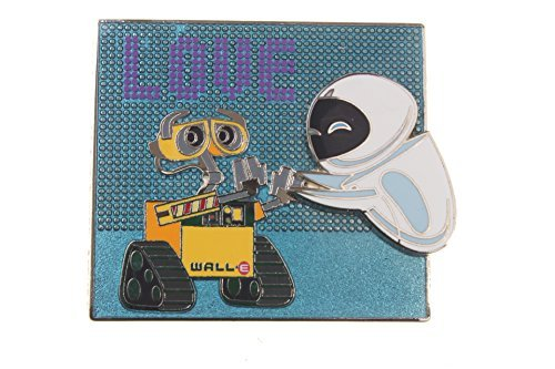 Disney Wall-E and Eve ''Love'' Pin by Disney
