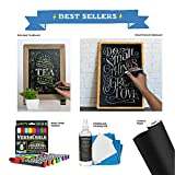 Large Chalk Board Sticker for Wall 8 Feet by