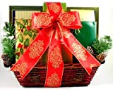 Christmas Wishes | Gourmet Holiday Gift Basket of Cookies, Chocolates and More