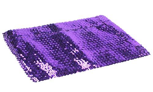 (Alivila.Y Fashion Sparkling Sequins Stretch Party Tube Top 4098-Purple)