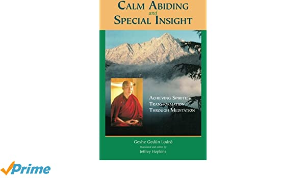 CALM ABIDING AND SPECIAL INSIGHT PDF DOWNLOAD