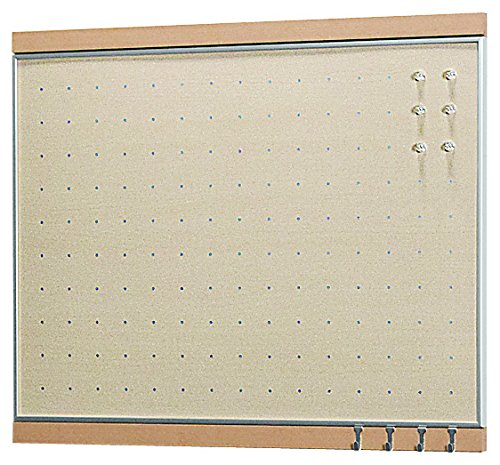 ベルク 【日本製インテリアボード】 フック付きマグボード 450×600 ナチュラル MR4051   B00N4OLWD8