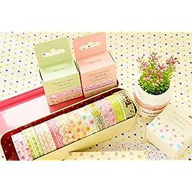 Schoolsupplies Kawaii Flower & Animals Cartoon Masking Tape Decorative Adhesive Washi Tape DIY Sticker Label