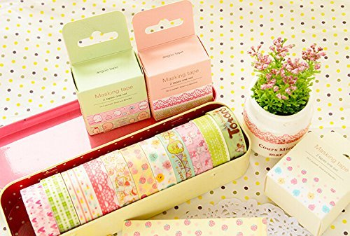 Schoolsupplies-Kawaii-Flower-Animals-Cartoon-Masking-Tape-Decorative-Adhesive-Washi-Tape-DIY-Sticker-Label