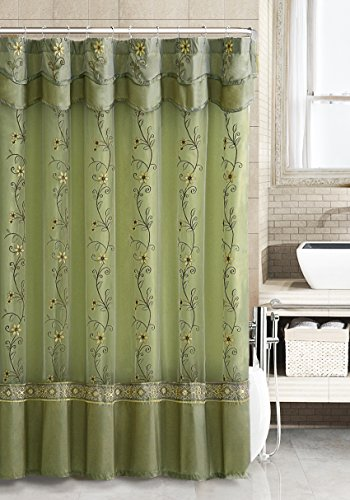 shower curtain with valance - 8