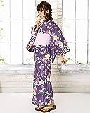 KYOETSU Women's Retro Yukata 4 Piece Set