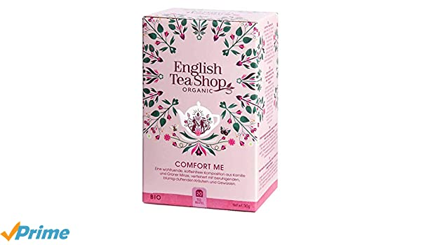 English Tea Shop Organic Sin cafeína Confortame/Infusión Confort ...