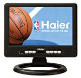 Haier HLT10 10-Inch Handheld TV, Black