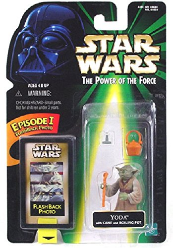 (Star Wars The Power of the Force Flashback Yoda Action Figure 1.75 Inches)