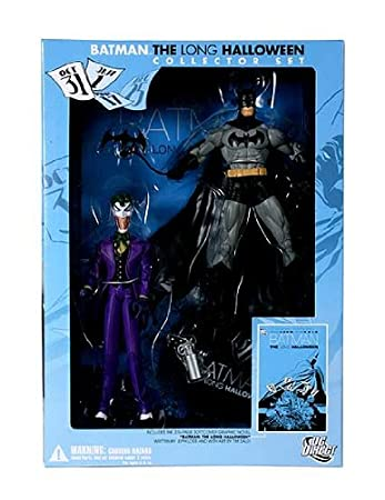 Amazon.com: DC Direct Batman: The Long Halloween Collector Set ...