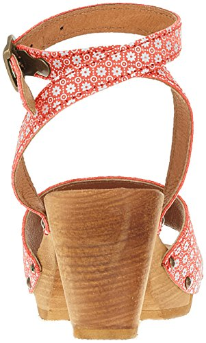 Sanita Women's Yarissa Flex Ankle Strap Sandals Red (Red 4) 6PbwPtcq