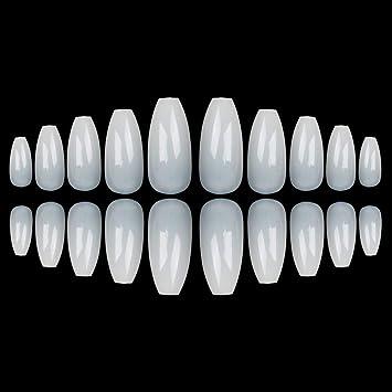 Juego de uñas postizas de gel de uñas de gel UV de larga duración de 600. Pasa ...