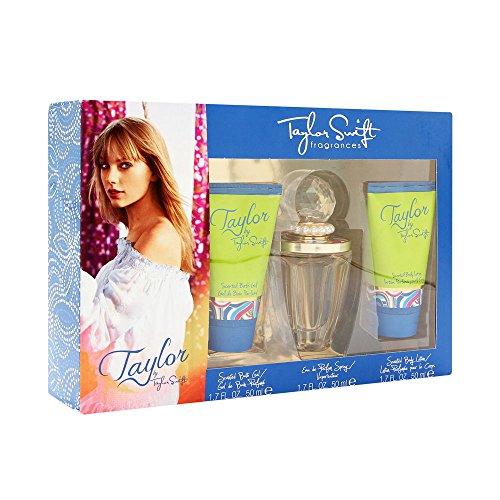Taylor Swift Three Piece Gift Set for Women (Taylor By Taylor Swift Perfume Gift Set)