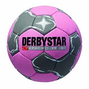 Derbystar Apacho TT - Balón de Balonmano, Color Rosa, Gris y ...
