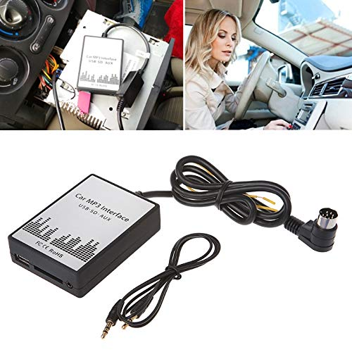 Davitu USB SD AUX Car MP3 Music Player Adapter for Volvo HU-series C70 S40/60/80 V70 XC70 Interface Simple Installation