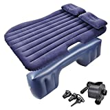 Yescom Inflatable Mattress Car Air Bed Travel Camping Backseat Cushion w/Pillow Pump