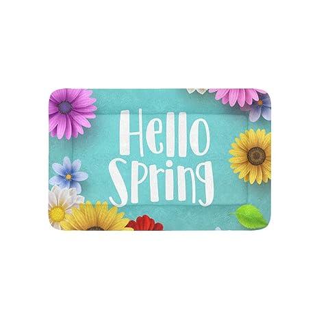 Primavera Temporada Bienvenida Extra Grande Personalizada ...