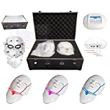 Miss Ammy LED Photon Therapy 3 Colors Lights Facial &Neck Mask Beauty Face Care for Home Use