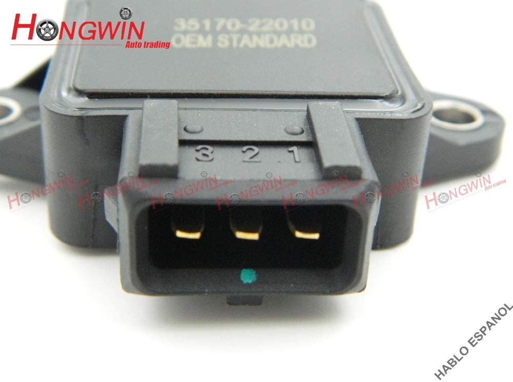 HW 35170-22010 TPS Sensor Throttle Position Sensor Fits Hyundai Elantra Tiburon Coupe Accent SAAB VOLVO 1993-2001,3517023000