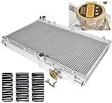 Ajp Distributors Manual Transmission Racing Dual Core Aluminum Cooling Radiator For Toyota Celica 3S-Gte