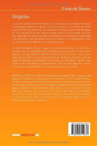Ungidas: Un itinerario de oración con relatos de mujeres Pozo de Siquem: Amazon.es: Mariola López Villanueva RSCJ: Libros