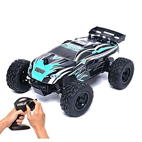 Fitiger RC Car 15km/h 1/24 Scale 2.4GHZ Radio Controlled Electric Vehicle 2WD Off-road for Kids
