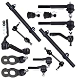 Scitoo Upper Lower Ball Joint Sway Bar Links Tie Rod Ends Steering Arms Lincoln Town Car Ford Crown Victoria Mercury Grand Marquis 1998-2002 Pack of 14