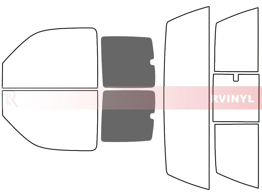 - Complete Kit Rtint Window Tint Kit for GMC Sierra 2000-2006 2 Door 5/%