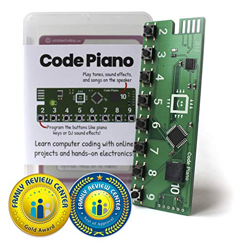 Code Piano | S.T.E.A.M. Toy for Kids 8-12 | Learn Real Code (Best Music For Coding)