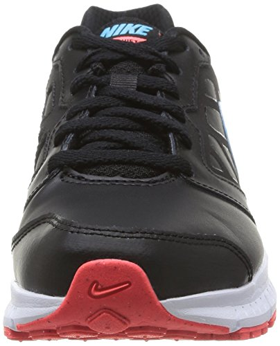 Nike Wmns Downshifter 6 Lea - Zapatillas para mujer Black/Clearwater-Ht Lava-White