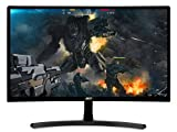 Acer Gaming Monitor 23.6' Curved ED242QR Abidpx 1920 x 1080 144Hz Refresh Rate AMD FREESYNC Technology (Display Port, HDMI & DVI Ports)