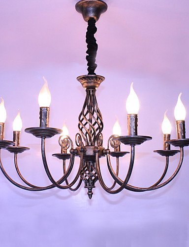 VU*LK 25W Retro Designer / Candle-Art Andere Metall Kronleuchter ...