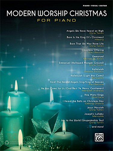 (Alfred Modern Worship Christmas for Piano Songbook P/V/G Edition)