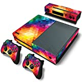 Ake Skin Sticker Cover Vinyl Decal Protector for Xbox One Console and Controllers -NO.0545