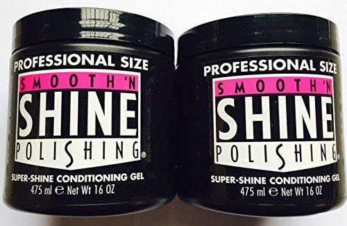 Smooth 'N Shine Polishing, Super-Shine Conditioning Gel 475 ML. 16 OZ. (2-Pack)