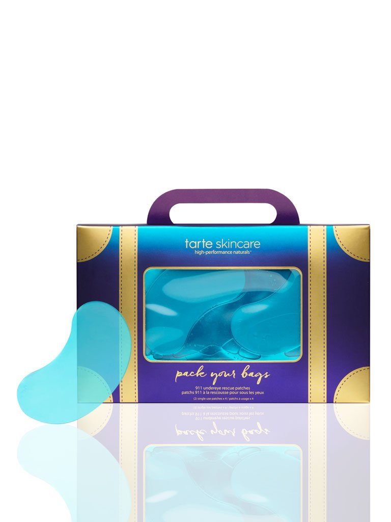 Tarte Pack Your Bags 911 Undereye Rescue Patches Set of 4
